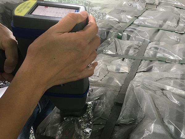 金属回收行业手持式合金分析仪应用案例