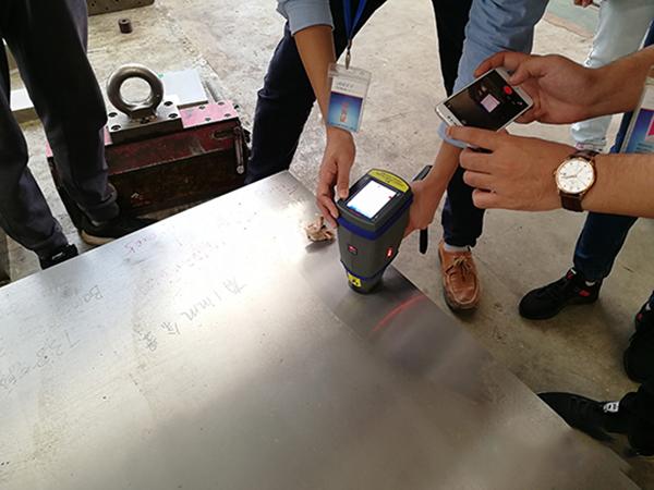 汽车制造企业手持式光谱分析仪应用案例