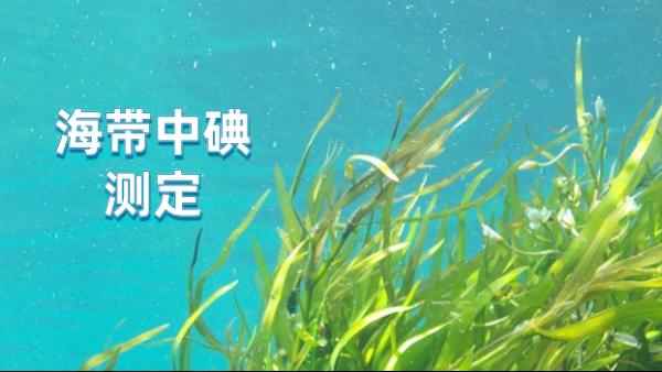 日本理学波长色散X射线荧光光谱测定海带中的碘