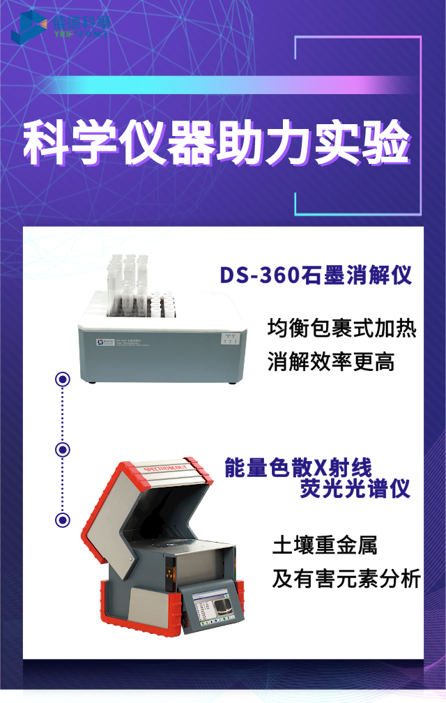 DS-360石墨消解仪与X射线荧光光谱仪
