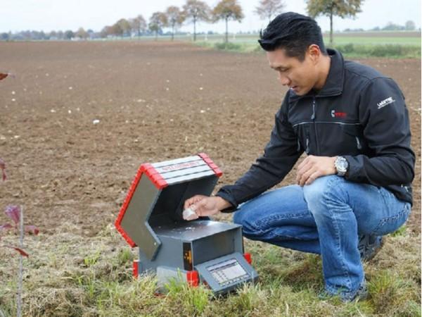 土壤成分含有重金属的x射线荧光分析方法