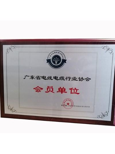 仪德科学-广东省电线电缆行业协会会员