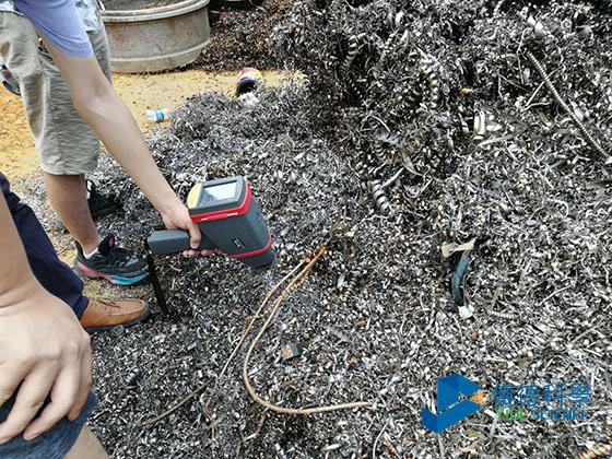 手持分析仪对细小金属进行分析