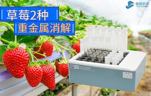 石墨消解仪-草莓2种重金属消解方法