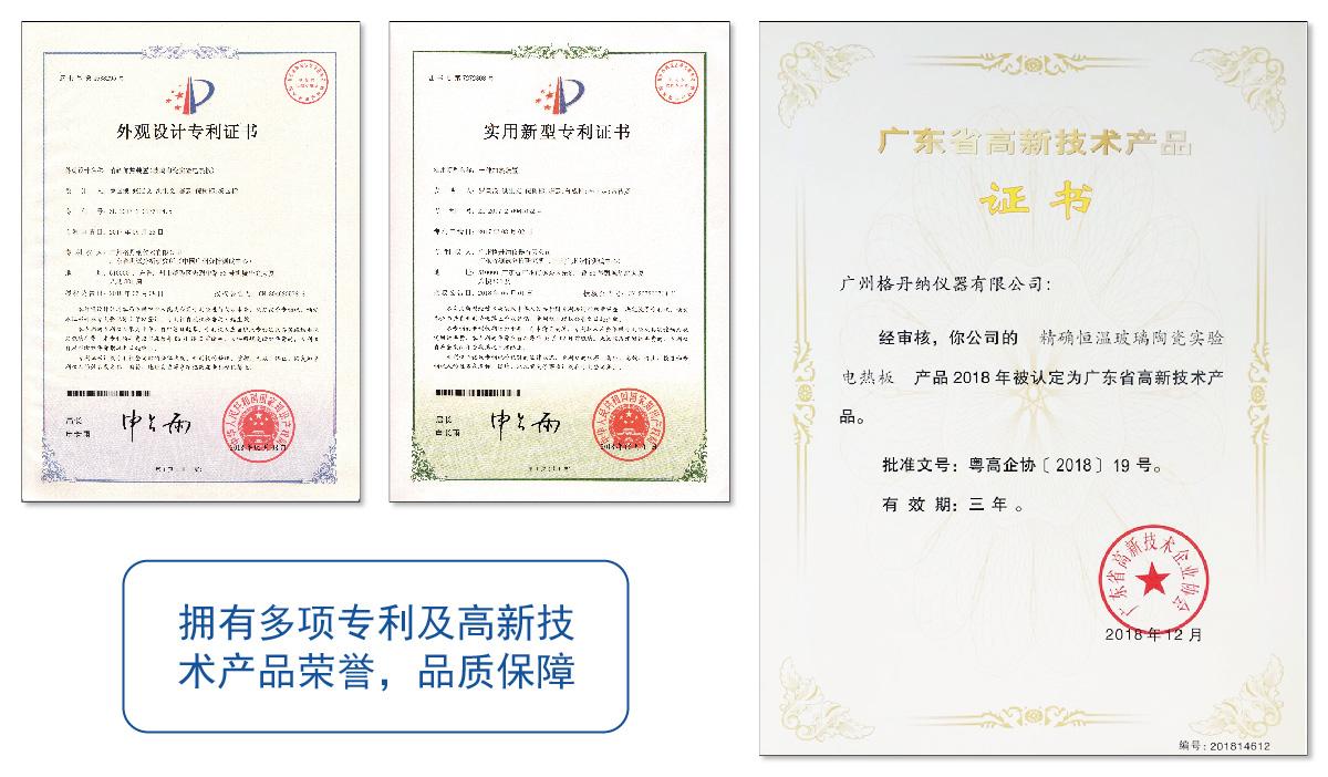 专利及荣誉