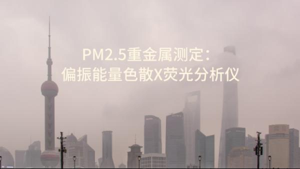 PM2.5重金属测定之偏振能量色散X荧光分析仪 OCUBE ED-XRF