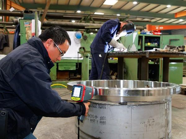 手持便携式分析仪在金属制造各种应用